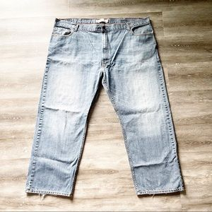 LEVIS Relaxed Straight Mens Jeans Size 48